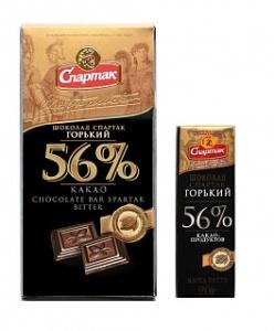Шоколад Горький-Элитный 56 (Спартак)