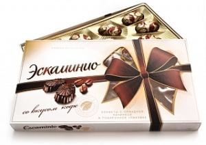 коробка конфет Эскаминио вкус кофе