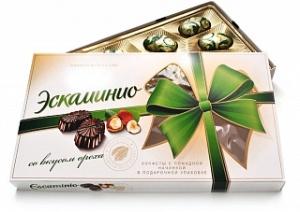 коробка конфет Эскаминио вкус ореха