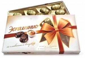 коробка конфет Эскаминио сливочный вкус