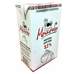 Молочная продукция из Белоруссии