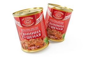 свинина тушеная ГОСТ 338г Слуцкий МК (Белоруссия)
