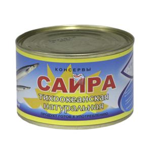 Рыбная консервация из Белоруссии