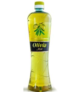 Масло подсолнечно-оливковое с оливками Olivia Mix 0,77л