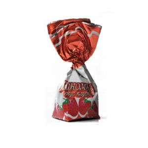 конфеты лакомка с желейной начинкой вкус клубника