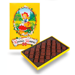 набор конфет красная шапочка