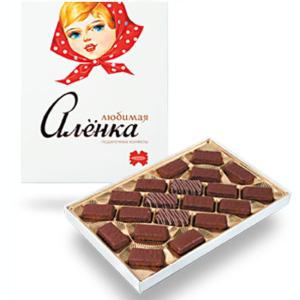 набор конфет любимая аленка