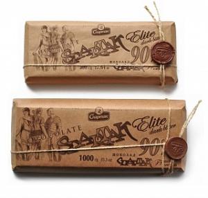 шоколад горький элитный 90 крафт