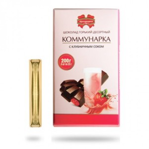 шоколад клубничный сок коммунарка