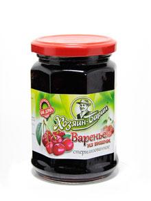 Варенье из Вишни Хозяин-Барин 380г (10шт в упак) (Беларусь)