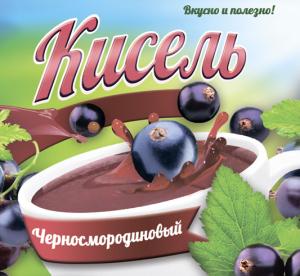 Кисель Черносмородиновый