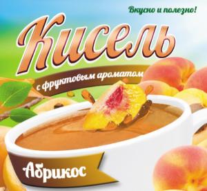 Кисель с фруктовым ароматом «Абрикос»