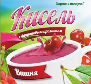 Кисель с фруктовым ароматом «Вишня»