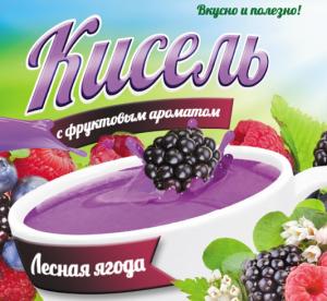 Кисель с фруктовым ароматом «Лесная ягода»