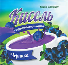 Кисель с фруктовым ароматом «Черника»