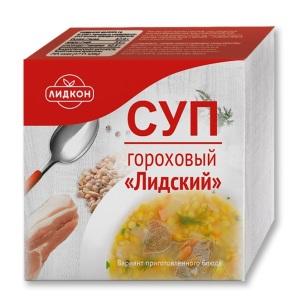 Суп гороховый лидский