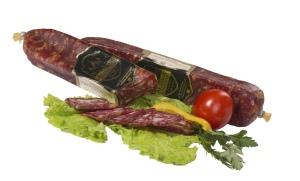 Изделие мясное оригинальное сыровяленое Закуска Деревенская