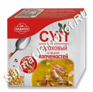 Суп гороховый со вкусом копченостей 200 г