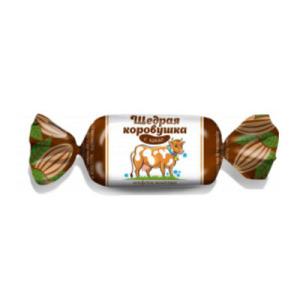 конфеты щедрая коровушка с какао