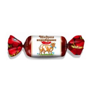 конфеты щедрая коровушка с маком