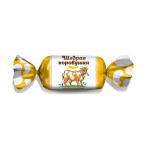 конфеты щедрая коровушка