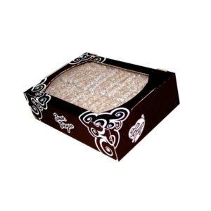 Вафли Снежка в белой глазури с арахисом 3 кг