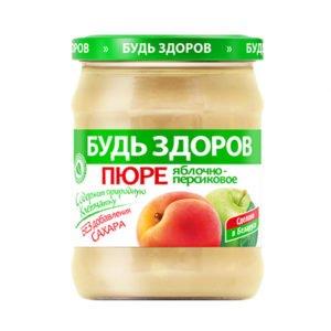 Пюре яблочно-персиковое 450г АВС