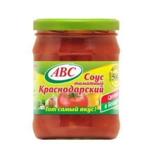 Соус томатный Краснодарский 500г АВС