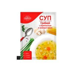 Суп грибной с вермишелью и зел.луком 70 г (Беларусь)
