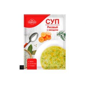 Суп рисовый с овощами 70 г (Беларусь)