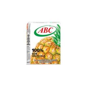 сок ананасовый 0,2 ABC