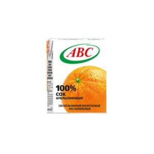 сок апельсиновый 0,2 ABC