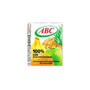 сок мультифруктовый 0,2 ABC