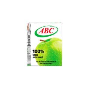 сок яблочный 0,2 ABC